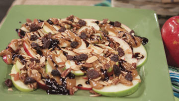 Apple Nachos by Stephanie Howard