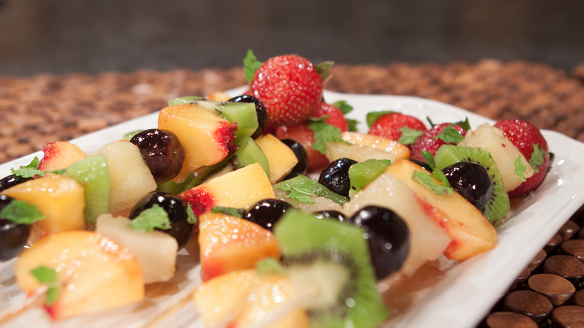 Fresh Summer Fruit Kabobs
