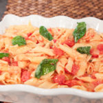 Penne Rigate Tomato Toss by Curtis & Paula Eakins
