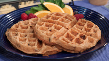 Fruit Cake Waffles by The Micheff Sisters
