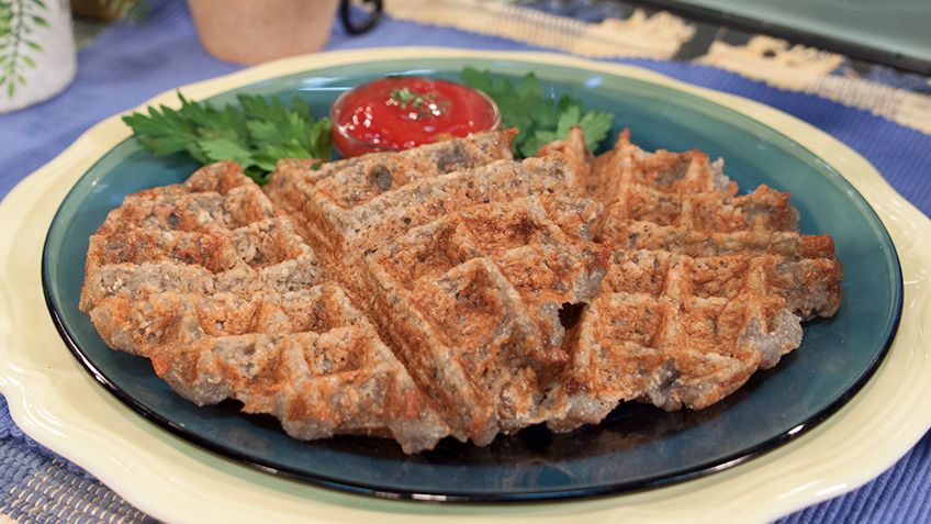 Waffle Hashbrowns by The Micheff Sisters