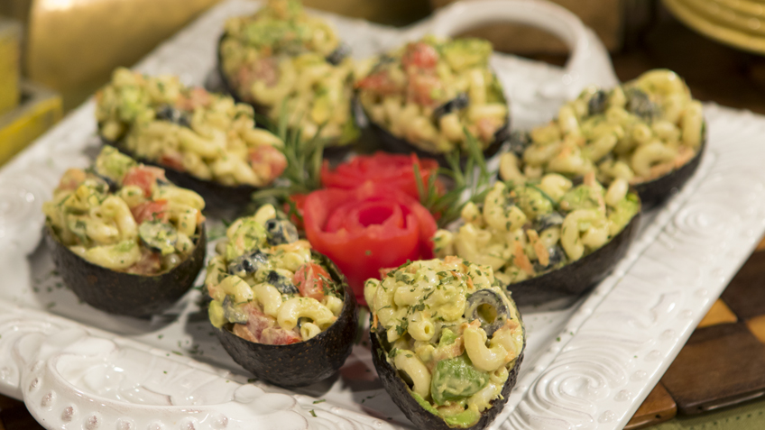 Stuffed Avocado Salad by The Micheff Sisters