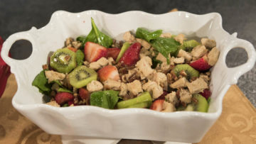 Strawberry Kiwi Mock Chick Salad by Curtis & Paula Eakins