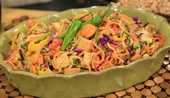 Thai Rainbow Fusion Salad