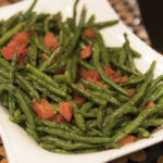 Beans & Sautéed Red Peppers by Curtis & Paula Eakins