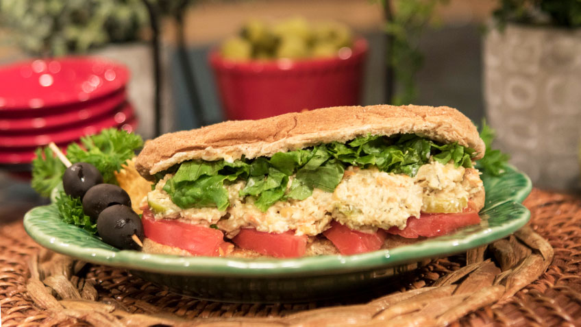 Chicken Salad Sub by the Micheff Sisters