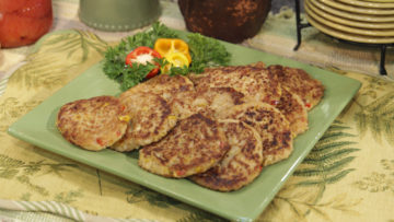 Corn Fritters by The Micheff Sisters