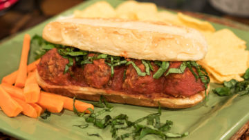 Italian Meatball Sub by the Micheff Sisters