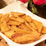 Spicy Potato Wedges by Curtis & Paula Eakins