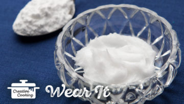 Baking Soda Coconut Oil Mask by the Holmes Sisters