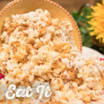 Caramel Maple Popcorn by The Holmes Sisters