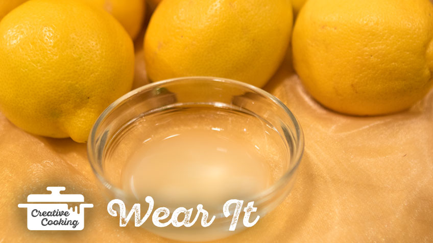 Lemon Toner by The Holmes Sisters