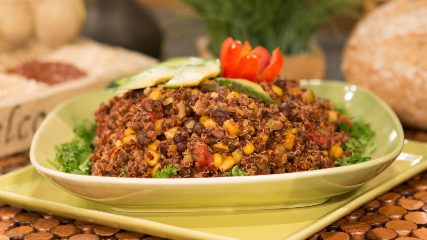 Spanish Style Quinoa by the Micheff Sisters