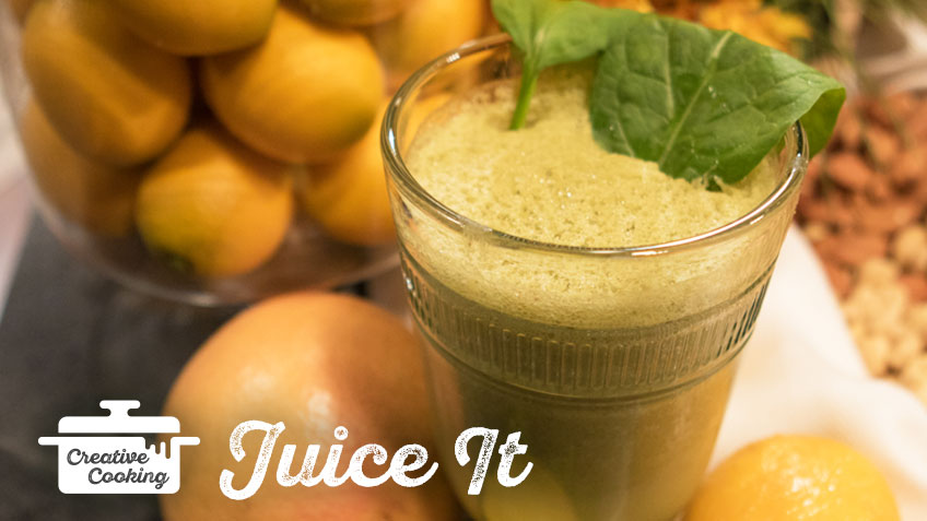 Sweep My Colon Smoothie by The Holmes Sisters