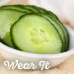Cucumber for the face by The Holmes Sisters