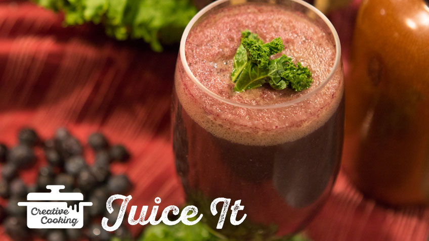 Kale Smoothie by the Holmes Sisters