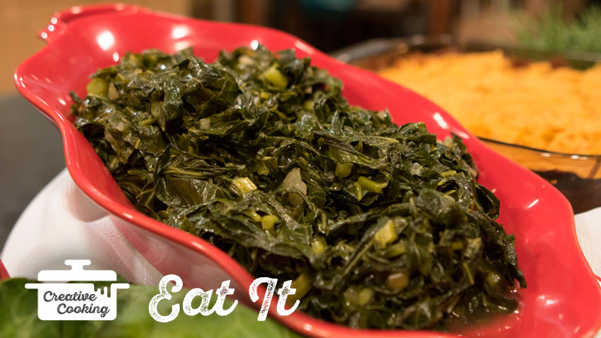 Smoked Collard Greens by The Holmes Sisters