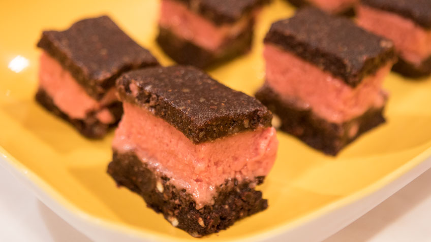Raw Ice Cream Sandwiches by Heidi's Health Kitchen