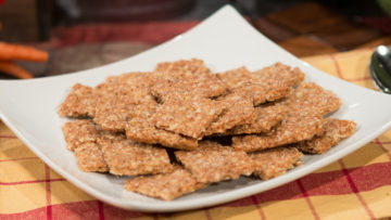Whole Grain Crackers by The Micheff Sisters